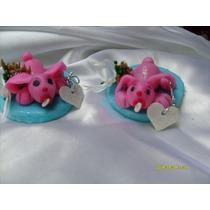 Souvenirs Nacimiento Animalitos Porcelana Fria Originales