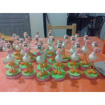 Cigueñas En Porcelana Fria Nena/varon X 10 Unidades