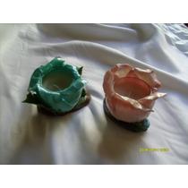 Souvenirs Porta Velas 15 Años,casamientos En Porcelana Fria