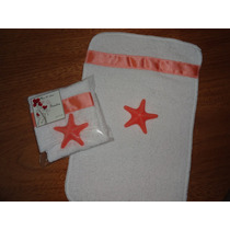 Souvenirs Toalla + Jabón Para Nacimiento Y Baby Shower
