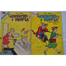 Lote X 2 Lorenzo Y Pepita N 355 1971 Y 212 1964 Ed Novaro