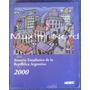 Libro Anuario Estadístico Rep. Argentina Indec 2000 No Envío