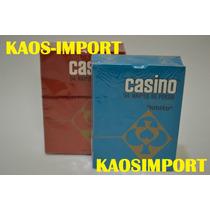 Casino Poker Cartas Naipes 54 Unidades Plastif Promocion