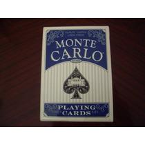 Mazo De Cartas Montecarlo Standard O Jumbo Nuevas. Usa.
