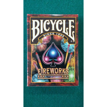 Naipes Bicycle Fireworks Edic Limitada Magia Poker Coleccion