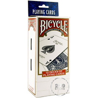 Mazos Poker Bicycle Pack X 12!! Standard - Barajas Magia!!