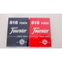 Juego De Naipes De Poker Fournier Importados- Demarte