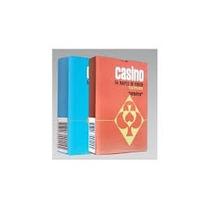 Naipes Casino 54 Cartas Poker Plastificadas Lavable