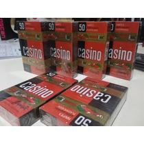 Mazo 50 Naipes Casino Cartas Plastificadas Españolas Comodin