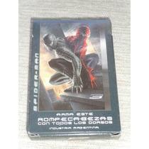 Naipes Cartas De Spiderman Hombre Araña Con Juegos Gabym