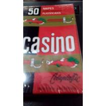 Naipes Cartas Españolas X 50 Casino Lavables