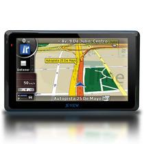 Gps 7 Pulgadas Con Tv Digital X View Mapas Alertas Velocidad