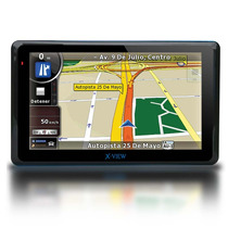 Gps 5 Pulgadas X View Mapas + Tv Digital + Alertas Vel + Gta