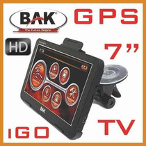 Gps Bak 7008 7 Pulgadas Tv Digital Multimedi + Cámara Estac.