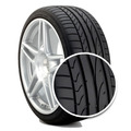 245/40/18 93y Potenza Re050 A Run Flat Rft Bridgestone 40r18