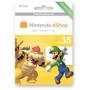 Codigo Nintendo Eshop U$35 Para Juegios 3ds Y Wiiu Hot Sale