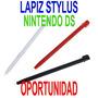Ds Lite Nintendo Kit De Lapiz Stylus Plastico