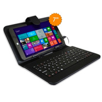 Tablet Funda Teclado 2 En 1 - Windows 10 - 16gb Intel Gtia