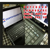 Notebook I5 2gb 320gb Commodore Permuto