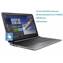 Notebook Hp I7-6700hq 6ta Gen Touchscreen 15.6 Fhd, 8gb 1tb