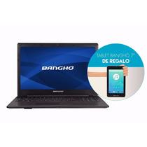 Notebook Banghó Max Intel Core I3 4gb 500 Gb 15.6¨ + Tablet