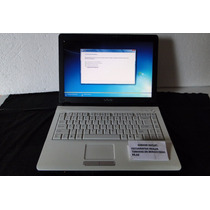 Notebook Sony Vaio Blanca,2gb Ram,disco 120gb,placa Intel.