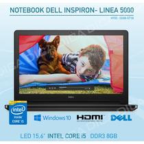 Notebook Dell 15´ I5558-5718 Tactil! Intel I5 1tb 8gb Win10