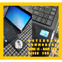 Notebook I5 4gb 500gb Commodore Permuto