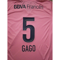 Números Boca Juniors Torneo Inicial 2013 Camiseta Rosa