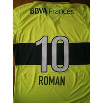 Números-nombres Boca Juniors 2014 Camiseta Amarilla Flúo