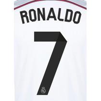 Estampado Real Madrid 2014 2015 Titular Ronaldo James Isco