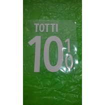 Estampado Original Totti Camiseta Roma 2014-15