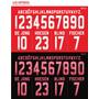 Numeracion Camiseta Ajax Holanda Original Oficial