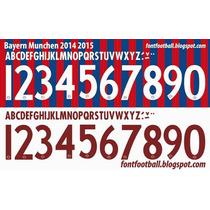 Estampado Numero Nombre Liga Alemana 2015 Local Exclusivo
