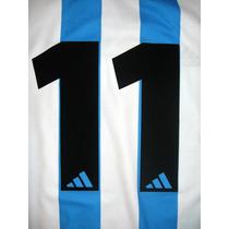Números Racing Club 2000-2001 Original Y Oficial Adidas Bold