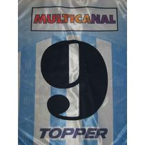 Números Racing Club 1995-1996 Original Y Oficial Topper