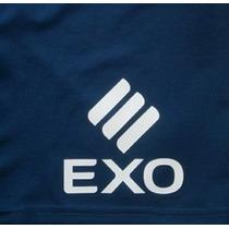 Logo Exo-estampado Short Boca 2015-2016-original Y Oficial