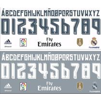 Estampado Numero Real Madrid 2015 2016 Adidas