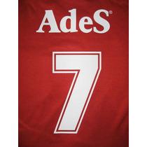 Números Independiente 1988-1996 Original Y Oficial Adidas