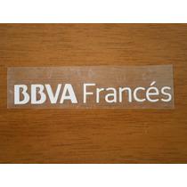 Logo Bbva Francés River 2013-2014 Chico Chomba/camperón