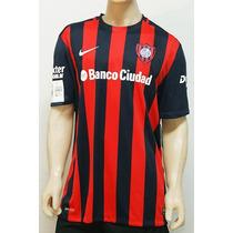 Estampado Publicidad Camiseta San Lorenzo Banco Ciudad