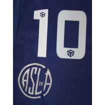 Números San Lorenzo 2001-02-03 Titular Y Alt. Short Signia