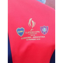 San Lorenzo Parche Supercopa Argentina 2015