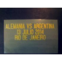 Match Day Dorado Final Brasil 2014