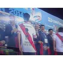 Estampado River Plate Campeon Sudamericana 2014