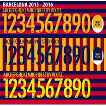 Numeros Vectorizados - Pack Clubes Europa 2016