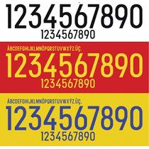 Estampado Numero Nombre Adidas 2016 X Mayor Equipos