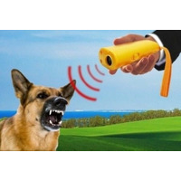 Ahuyentador Repelente Adiestrador De Perros Ultrasonico 7m