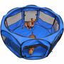 Corral/cerco De Tela Para Perro Gato Conejo Huron Plegable