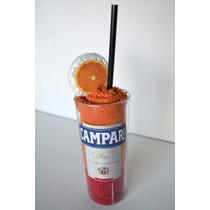 Souvenir Original Campari- 2 Toallas + Jabon Personalizado